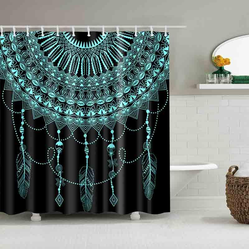 Dreamcatcher Shower Curtains Bathroom